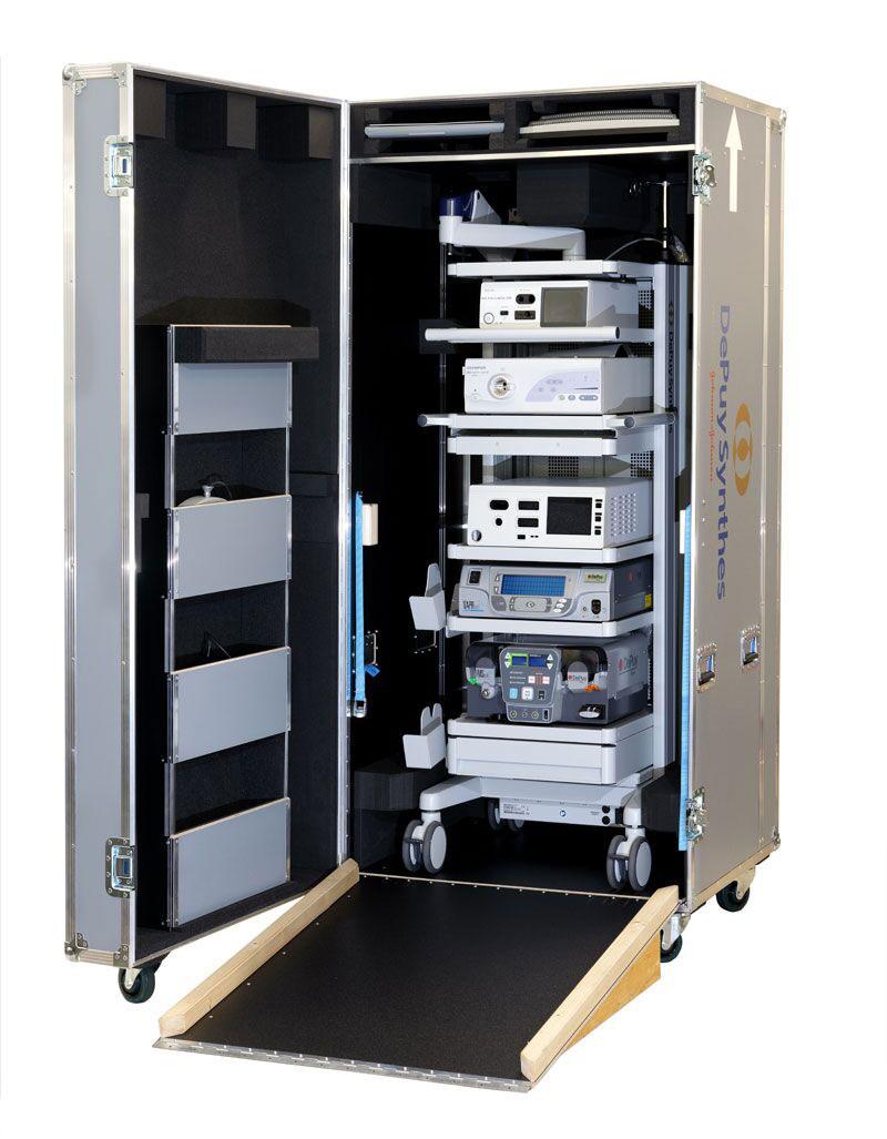 Flightcase für medizinische Geräte