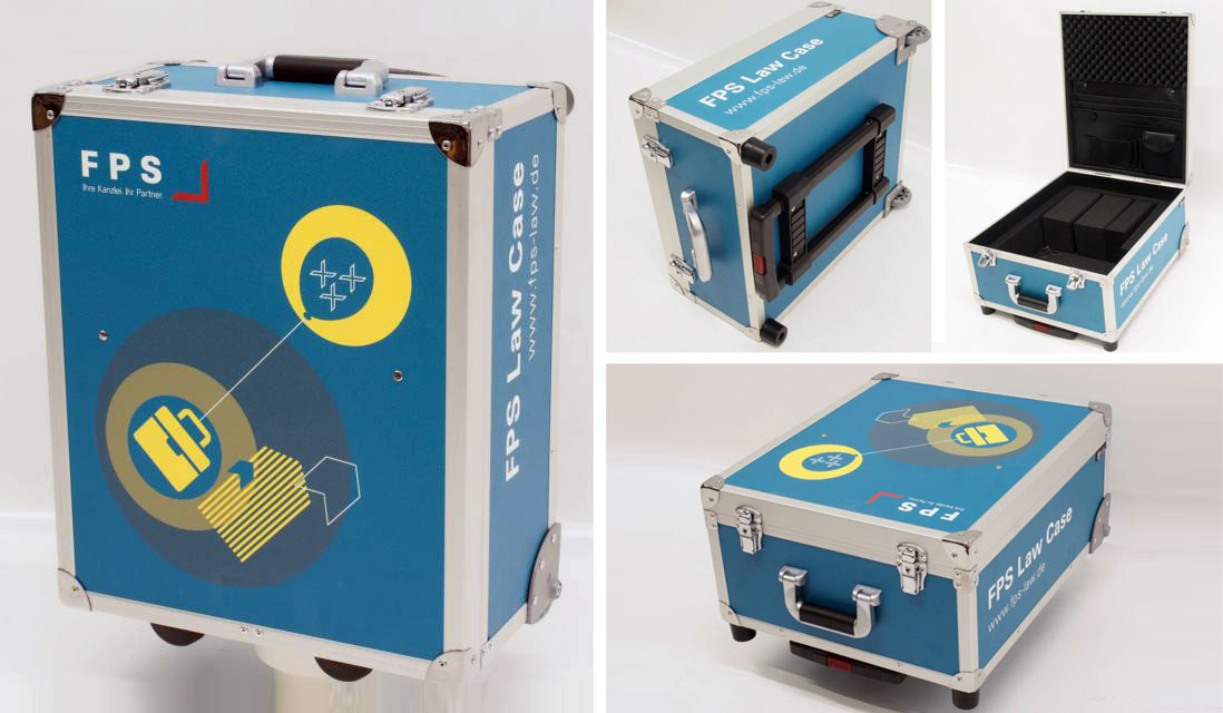 Koffer Folierung
